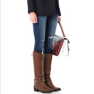 🆕 Sam Edelman x Anthropologie brown leather boots